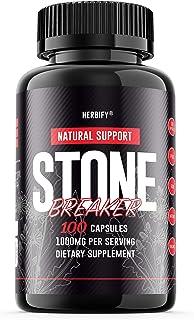 Stone Breaker Pills 1000mg, Stone Breaker Capsules, Chanca Piedra (Phyllanthus Niruri), Hydrangea Root (Hydrangea arboresc...