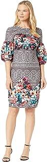 فستان سكوبا خلفي كريب للنساء من ECI New York