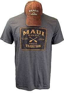 Maui Clothing Hawaii T-Shirt & Hat Combo Set