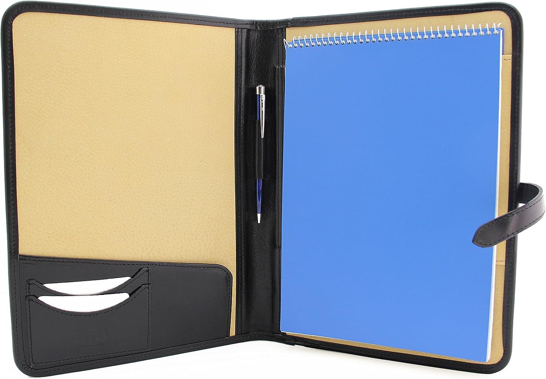 Leather Portfolio Padfolio specialty shop Executive W Folio A4 Low price Resume