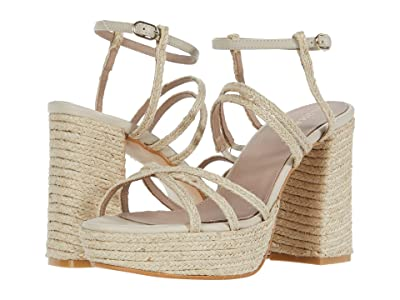 ALOHAS Carioca Heeled Sandals (Natural) Women