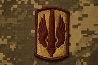 Military Patch US Army 18th Fires Brigade Field Artillery Tan Desert DCU Sew-on
