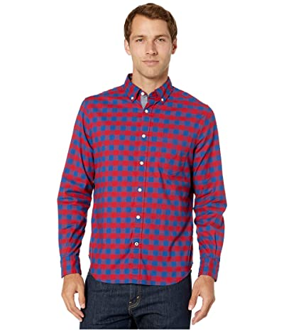 Nautica Casual Oxford Plaid Woven (Red) Men