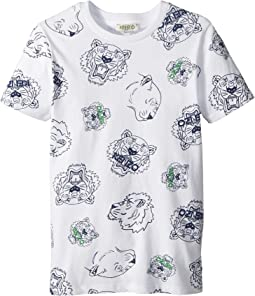 Kenzo Kids Tee Shirt Tigers (Big Kids)