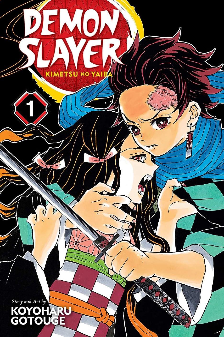 適格スペース推進Demon Slayer: Kimetsu no Yaiba, Vol. 1 (1)