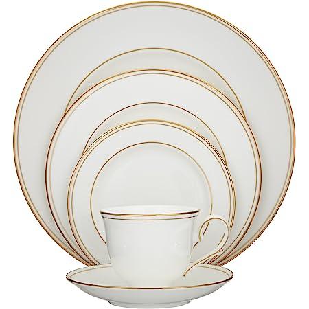 Lenox Eternal 5 Piece Place Setting Ivory Dinnerware Sets Soup Bowls
