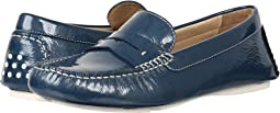 Blue Italian Soft Patent Leather