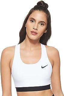 حمالة صدر نسائية ماركة Nike Swoosh Band غير مبطنة (عبوة من قطعة واحدة)