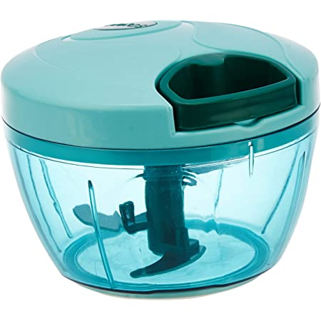 Amazon Brand - Solimo Compact Vegetable Chopper (350 ml, Green)