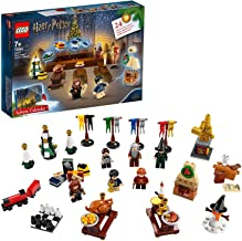 LEGO 75964 Harry Potter Advent Calendar 2019 with 7 Minifigures, Micro Hogwarts Express Train and Hedwig Figure