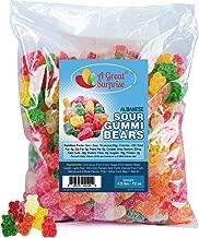 Gummy Bears - Gummi Bears - Sour Gummy Bears - Assorted Gummies - Bulk Candy 4.5 LB