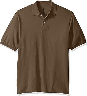 Men's Spot Shield Short Sleeve Polo Sport Shirt