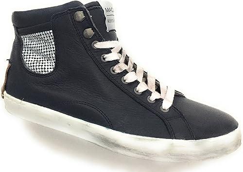 Maca Kitzbühel , Chaussures de ville à lacets pour femme Bleu bleu