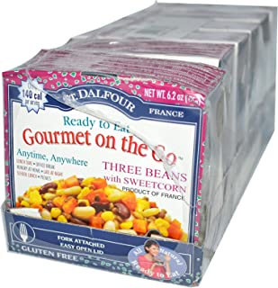 St Dalfour French Bistro Gourmet on The Go Three Beans with Sweetcorn 6 Pack 6 2 oz 175 g Each