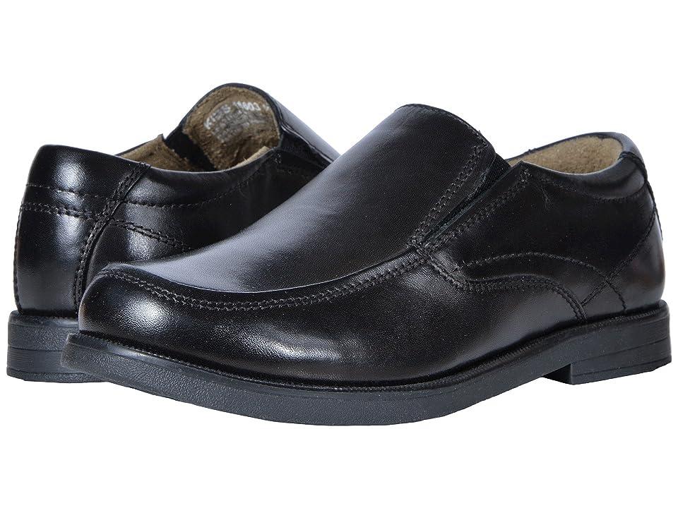 Florsheim Kids Midtown Moc Slip, Jr. (Toddler/Little Kid/Big Kid) (Black) Boys Shoes