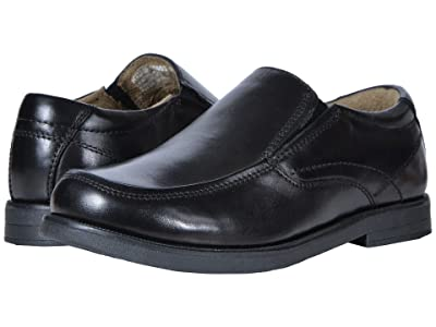 Florsheim Kids Midtown Moc Slip, Jr. (Toddler/Little Kid/Big Kid) (Black) Boys Shoes
