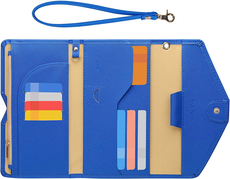 Zoppen Passport Holder Travel Wallet Rfid safety for Women Bloc Houston Mall Ver.5