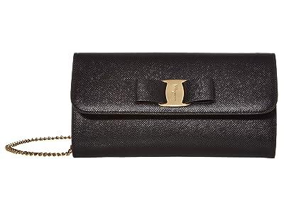 Salvatore Ferragamo Vara Mini Bag (Nero) Handbags