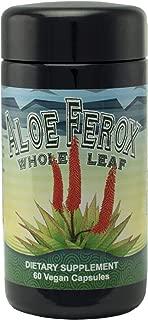 Aloe Ferox Whole Leaf Capsules