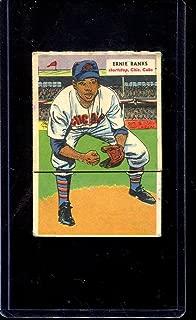 1955 Topps Double Header Baseball #031 31-32 Pollet/Banks STARX 4 VG/EX (CS27335)