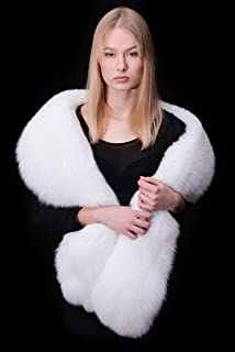 arctic fox fur stole