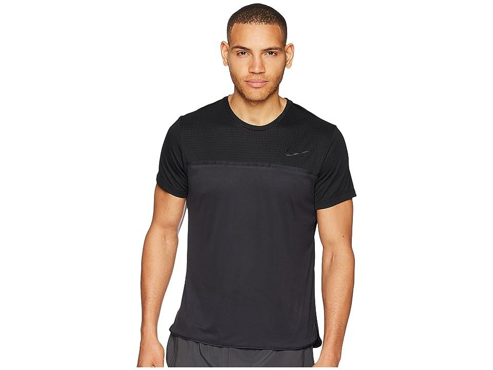 Nike Challenger Crew (Black/Gridiron/Black) Men