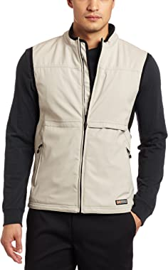 ANSAI Men's Mobile Warming Golf Softshell Vest
