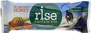 Rise Energy Plus Bar, Almond Honey, 2.1 Ounce (Pack of 12)