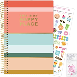 bloom daily planners 2021-2022 Academic Year Day Planner & Calendar (July 2021 - July 2022) - 6' x 8.25' - Weekly/Monthly ...