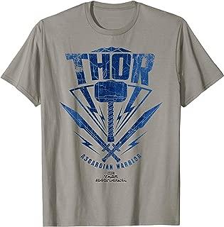 Marvel Thor Ragnarok Asgardian Warrior Hammer Shield T-Shirt T-Shirt