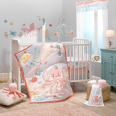 Bedtime Originals Ocean Mist Musical Baby Crib Mobile Multicolor