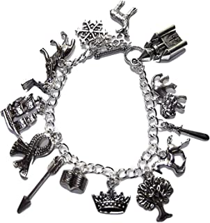 The Chronicles of Narnia 12 Assorted Themed Charms Charm BRACELET