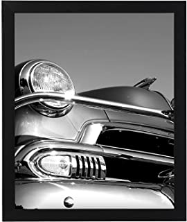 Americanflat 18x24 inch Black Poster Frame | Polished Plexiglass. Hanging Hardware Included!