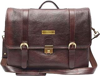 BAG JACK - Distinctively Masculine Vir | Handcrafted | Natural Grain Leather | Men Office Bag | Leather Laptop Bag | Lapto...
