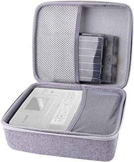 Aenllosi Hard Carrying Case for Canon Selphy CP1200 / CP1300 Wireless Color Photo Printer (Grey)