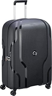 Delsey Delsey Suitcase, 79 cm, 134 liters, Black (Negro)