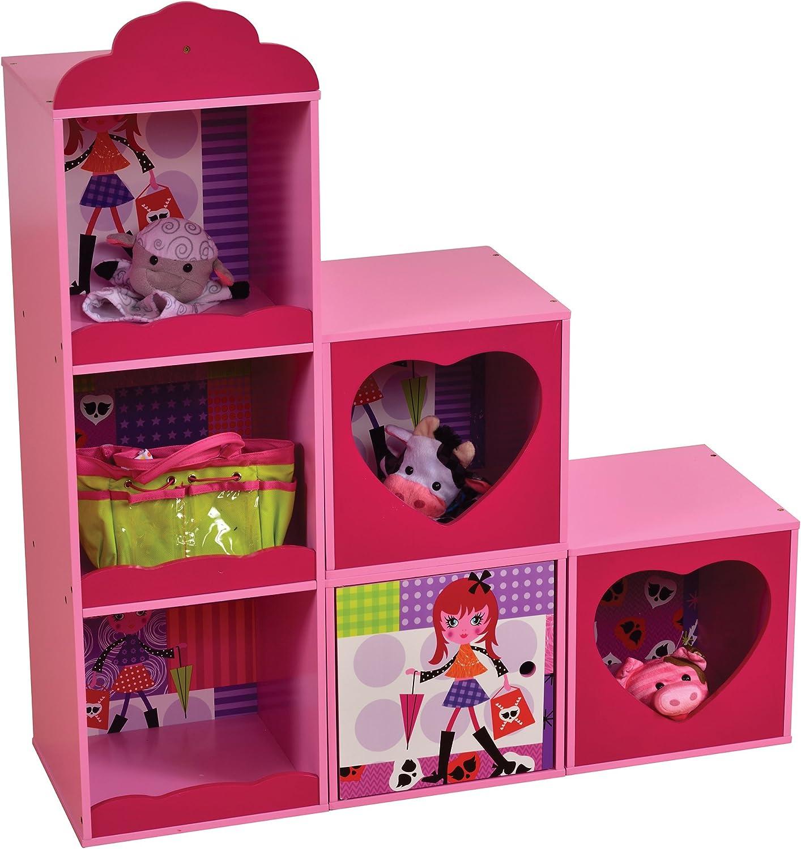 ventas en linea Liberty House Juguetes Juguetes Juguetes mz4609Fashion Girl Estante y apilamiento de Unidades de Almacenamiento  tiendas minoristas