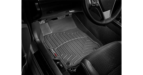 WeatherTech Custom Fit Front FloorLiner for Honda Civic Black 443631