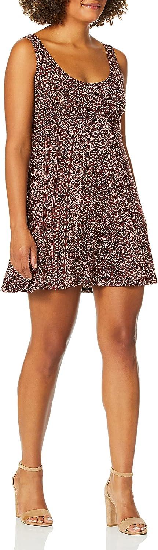 Angie Women's Burgundy Houston Mall Skater Dress online shopping