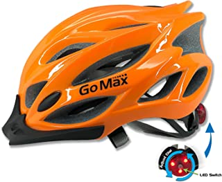 GoMax Aero Adult Safety Helmet Adjustable Road Cycling Mountain Bike Bicycle Helmet Ultralight Inner Padding Chin Protecto...