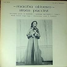 MAGDA OLIVERO SINGS PUCCINI-Tosca,La Boheme,M.Butterfly-VINYL