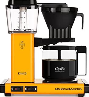 Technivorm Moccamaster 59608 KBG Coffee Brewer 40 oz Yellow Pepper