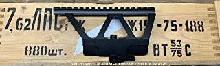NTC Generation 2 Scope Rail Mount New Picatinny Rail MIL STD 1913 Rail Black for Standard Side Rail for US Made PSA, Russian, European (Romanian, Polish, East German) and Chinese