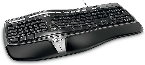 MICROSOFT Wired Natural Ergo 4000 Series USB Keyboard Retail Box (Dark Grey)