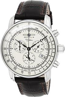 [ツェッペリン]ZEPPELIN 腕時計 100周年モデル シルバー文字盤 7680-1N メンズ 【並行輸入品】