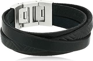 Best wrap mens silver bracelets Reviews