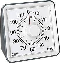TFA 12-2006 – binnen- en buitenthermometer van metaal.