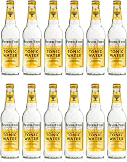 Fever Tree Indian Tonic Water 0,5 Liter Flaschen, 12er Pack 12 x 500 ml