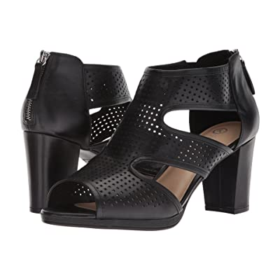 Bella-Vita Leslie (Black Leather) Women