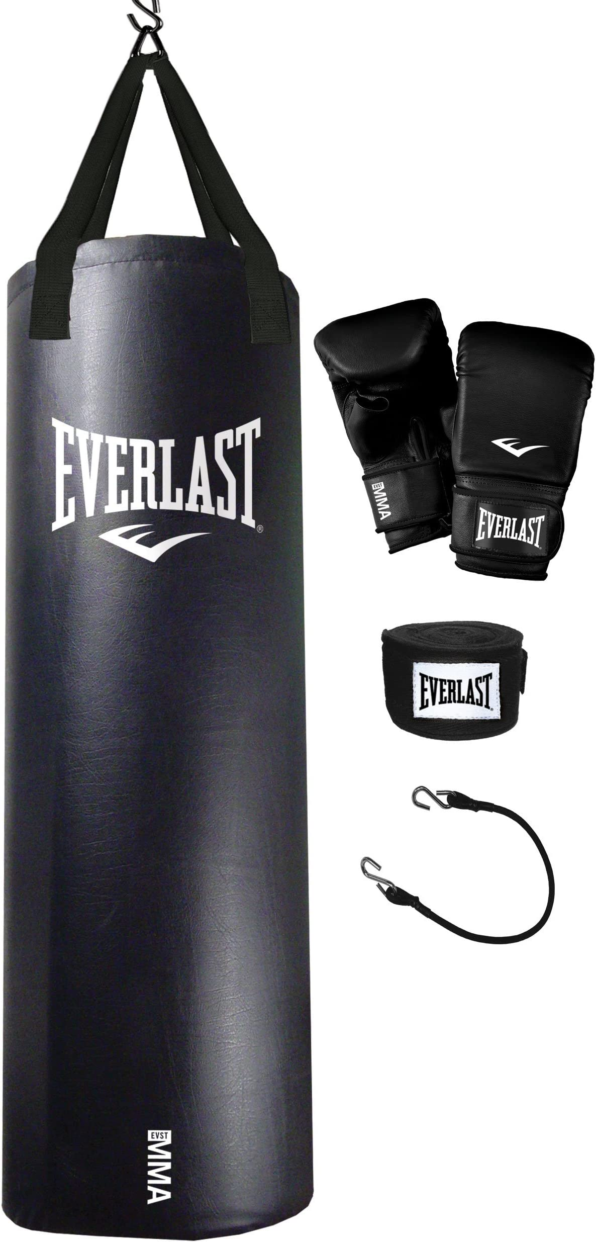 Everlast Fitness Workout 70 Pound Heavy Boxing Punching Bag Gray Brand New MMA